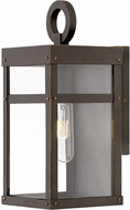 Hinkley 2806OZ-LL Porter Modern Oil Rubbed Bronze LED Outdoor Wall Mounted Lamp