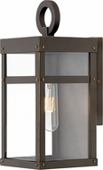 Hinkley 2806OZ Porter Modern Oil Rubbed Bronze Outdoor Mini Wall Sconce Light