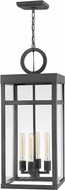 Hinkley 2808DZ Porter Contemporary Aged Zinc Exterior Hanging Pendant Lighting