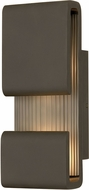 Hinkley 2810OZ Contour Modern Oil Rubbed Bronze LED Outdoor 15 Wall Light Fixture