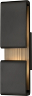 Hinkley 2815BK Contour Contemporary Black LED Exterior 22 Lighting Wall Sconce