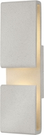 Hinkley 2815CG Contour Modern Cement Gray LED Outdoor 22 Wall Lighting Sconce