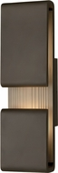 Hinkley 2815OZ Contour Contemporary Oil Rubbed Bronze LED Exterior 22 Wall Sconce Lighting