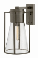 Hinkley 2825OZ Refinery Contemporary Oil Rubbed Bronze Outdoor Large Wall Sconce Lighting