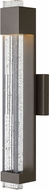 Hinkley 2834BZ Glacier Modern Bronze LED Outdoor Medium Wall Sconce Lighting