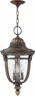 Hinkley 2902RB Key West Traditional Regency Bronze Outdoor Pendant Lamp