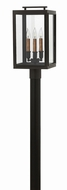 Hinkley 2911OZ Sutcliffe Contemporary Oil Rubbed Bronze Outdoor Post Lighting Fixture