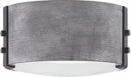 Hinkley 29201DZ-LL Sawyer Modern Aged Zinc / Distressed Black LED Outdoor 9  Ceiling Light Fixture