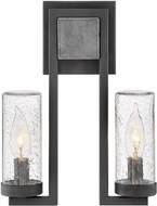 Hinkley 29202DZ Sawyer Modern Aged Zinc Outdoor Wall Sconce