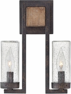 Hinkley 29202SQ Sawyer Contemporary Sequoia Exterior Wall Light Sconce