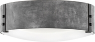 Hinkley 29203DZ Sawyer Contemporary Aged Zinc Exterior Ceiling Light