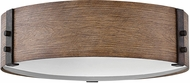 Hinkley 29203SQ-LL Sawyer Contemporary Sequoia / Iron Rust LED Exterior 15  Overhead Lighting