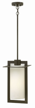 Hinkley 2922BZ Colfax Modern Bronze Exterior Drop Ceiling Light Fixture