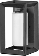 Hinkley 29300BGR-LL Rhodes Brushed Graphite LED Outdoor Wall Lighting Fixture