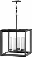 Hinkley 29304BGR-LL Rhodes Contemporary Brushed Graphite LED Outdoor Drop Lighting