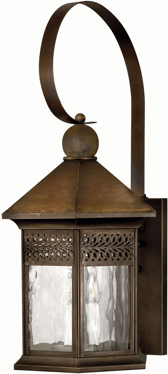 Hinkley 2996sn Westwinds 3 Light 27 Inch Rustic Outdoor Wall Sconce Loading Zoom