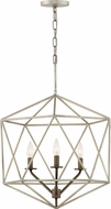 Hinkley 3023GG Astrid Contemporary Glacial / Metallic Matte Bronze Pendant Lighting Fixture