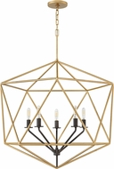 Hinkley 3025DG Astrid Contemporary Deluxe Gold 28  Foyer Lighting Fixture