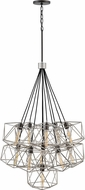 Hinkley 3029GG Astrid Contemporary Glacial / Metallic Matte Bronze Multi Hanging Light Fixture