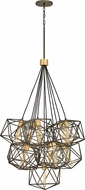 Hinkley 3029MM Astrid Modern Metallic Matte Bronze / Deluxe Gold Multi Drop Lighting