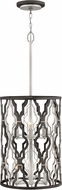 Hinkley 3065GG Portico Modern Glacial Gold Drum Pendant Hanging Light