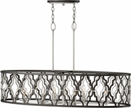 Hinkley 3068GG Portico Glacial / Metallic Matte Bronze Kitchen Island Light