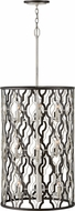 Hinkley 3069GG Portico Glacial / Metallic Matte Bronze 19  Foyer Light Fixture