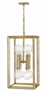Hinkley 3108SL Tinsley Contemporary Silver Leaf Foyer Lighting Fixture