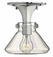 Hinkley 3146 Congress Clear Glass 8 Inch Diameter Semi Flush Lighting Fixture