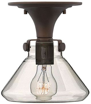 Hinkley 3146OZ Congress Modern Oil Rubbed Bronze 8  Ceiling Light Fixture