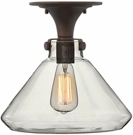 Hinkley 3147OZ Congress Modern Oil Rubbed Bronze 12.25  Flush Lighting