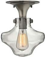 Hinkley 3150AN Congress Contemporary Antique Nickel Flush Mount Lighting Fixture