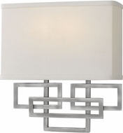 Hinkley 3162AN Lanza Contemporary Antique Nickel Lighting Sconce