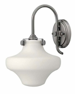 Hinkley 3175 Congress Transitional Antique Nickel Finish 13 Inch Tall Wall Sconce