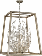 Hinkley 3188SL Loren Silver Leaf / Weathered Ash 38  Entryway Light Fixture