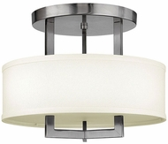 Hinkley 3200AN-LED Hampton Antique Nickel LED 15  Overhead Light Fixture