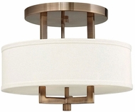 Hinkley 3200BR Hampton Brushed Bronze 15  Overhead Lighting Fixture