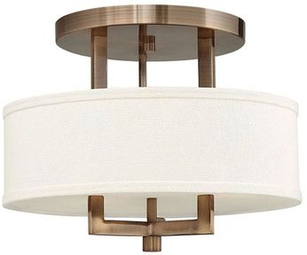 Hinkley 3200BR-LED Hampton Brushed Bronze LED 15  Ceiling Lighting