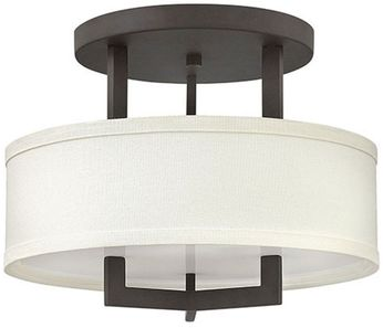 Hinkley 3200KZ-LED Hampton Buckeye Bronze LED 15  Ceiling Light