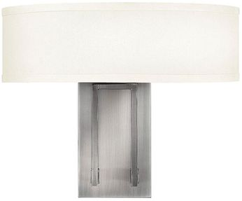 Hinkley 3202AN Hampton Antique Nickel Wall Lighting Sconce