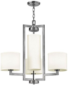 Hinkley 3209AN Hampton Antique Nickel Chandelier Light