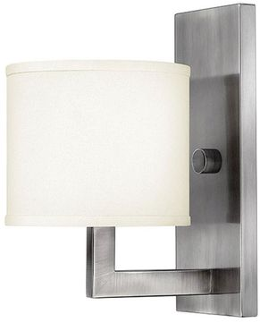 Hinkley 3210AN Hampton Antique Nickel Wall Mounted Lamp