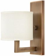 Hinkley 3210BR Hampton Brushed Bronze Wall Light Sconce