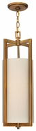 Hinkley 3217BR Hampton Contemporary 22.5 Inch Tall Bronze Framed Hanging Lamp