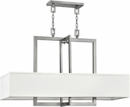 Hinkley 3218AN Hampton Contemporary Antique Nickel Kitchen Island Light Fixture
