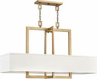 Hinkley 3218BR Hampton Modern Brushed Bronze Island Lighting