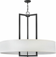 Hinkley 3219KZ Hampton Modern Buckeye Bronze Drum Hanging Light