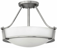 Hinkley 3220AN-LED Hathaway Antique Nickel LED 16  Flush Mount Light Fixture