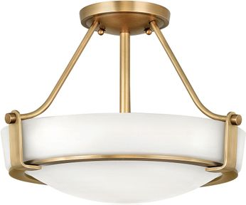 Hinkley 3220HB Hathaway Heritage Brass 16  Overhead Lighting Fixture