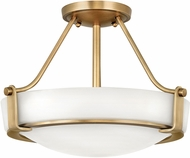 Hinkley 3220HB-LED Hathaway Heritage Brass LED 16  Ceiling Lighting